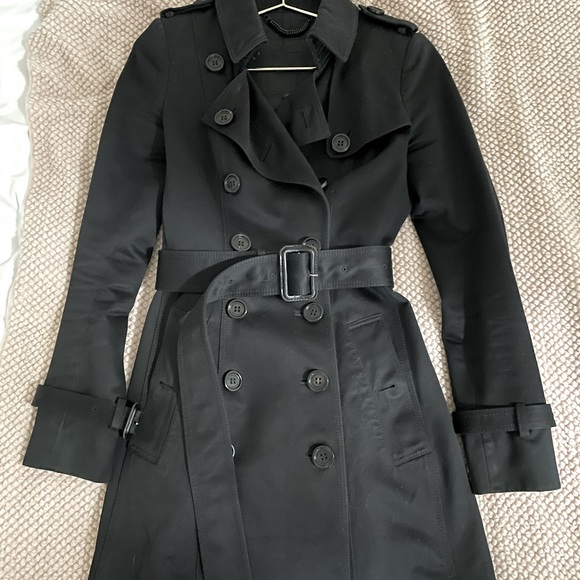 Burberry Prorsum Belted Trench Coat